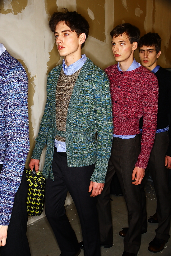 d607cc84795d92 Milan Fashion Week menswear : BACKSTAGE PRADA Fall 2010 | COOL CHIC STYLE  to dress italian