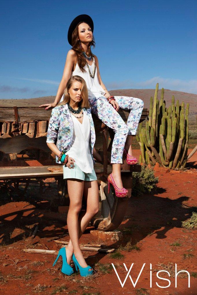Wish Wonderland Jacket and Pants Promenade Top Hiatus Top Clarion Shorts